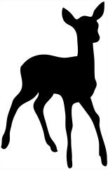 Animals clipart silhouette. Animal clip art of