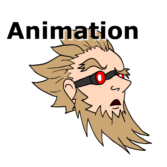 Animate drawing animation flash. Mad inventor by greenscrapbot