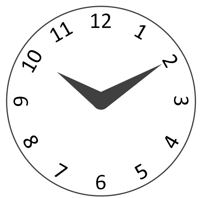 Timer drawing black and white. In powerpoint clock icons