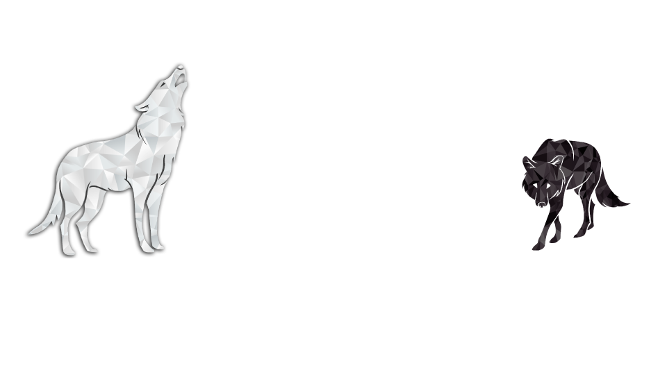 Mindfulness drawing wolf. Feed kindness starve harm