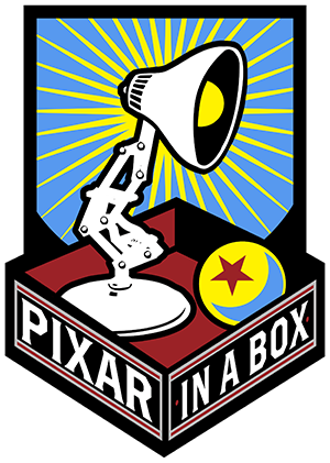Animate drawing pixar animation. In a box partner