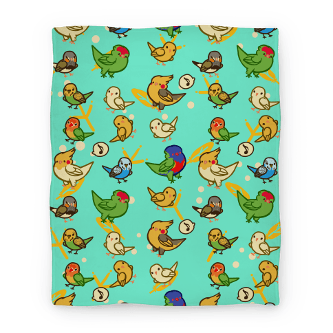 Animated blanket pattern png. Gifts for anime lovers