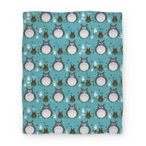 Animated blanket pattern png. Totoro lookhuman
