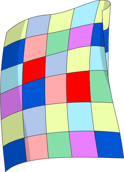 Blanket vector animated. Quilt clip art at