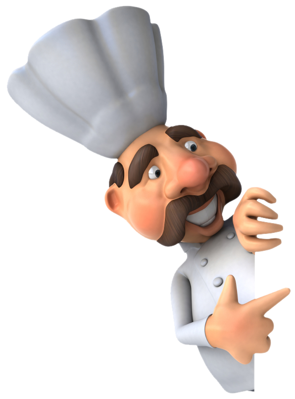 Animated chef png. Male image purepng free