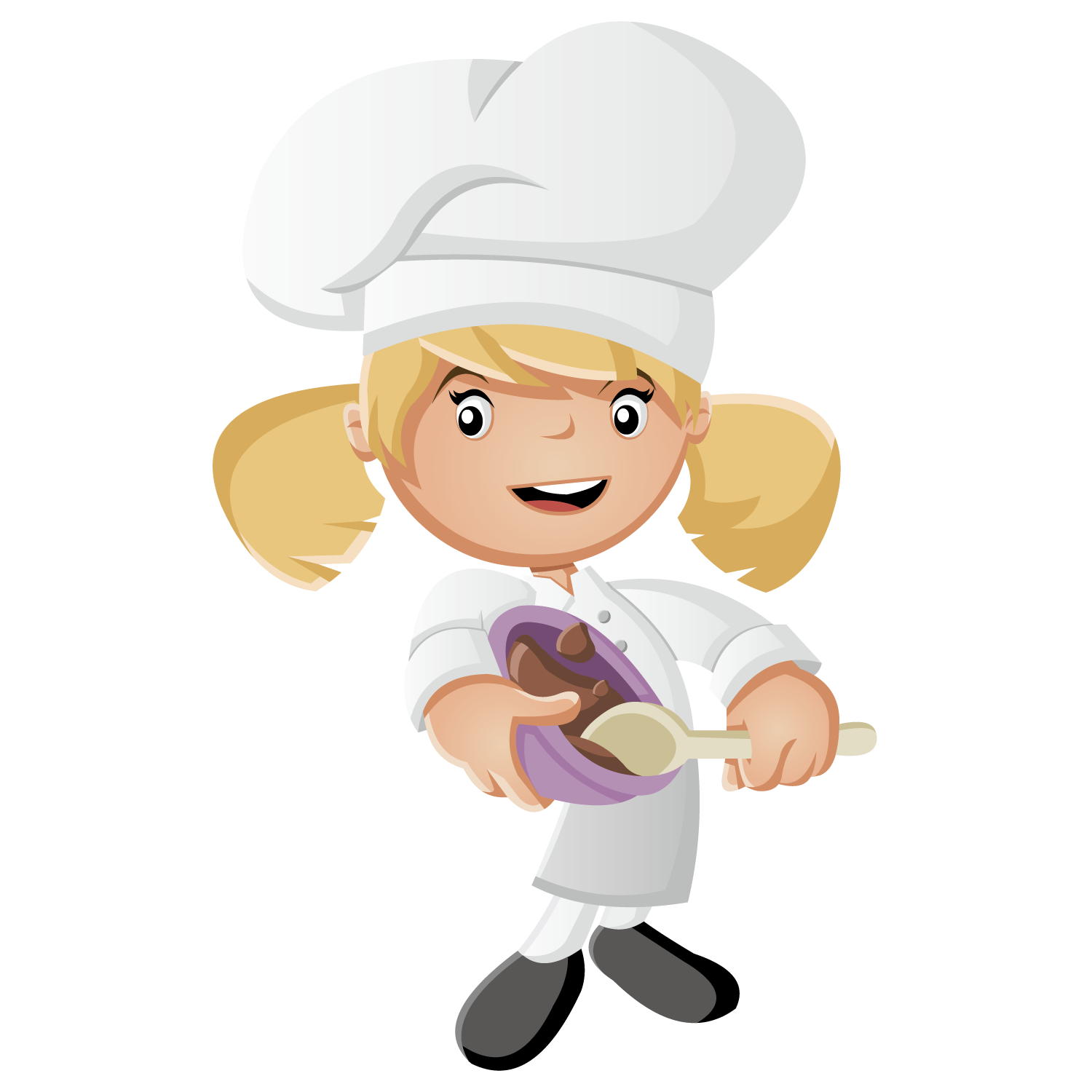 Animated chef png. Cartoon cook illustration cooking