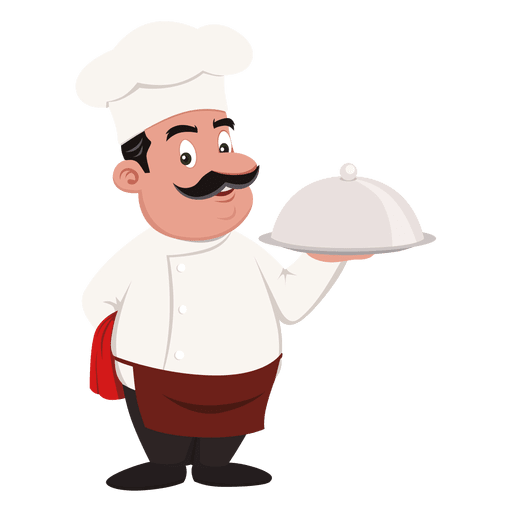 Vector alligator chef cartoon. Clip art transprent png graphic black and white download