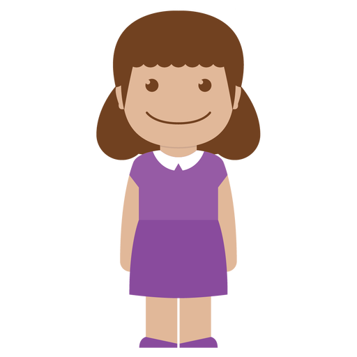 Animated child png. Little girl by yudha