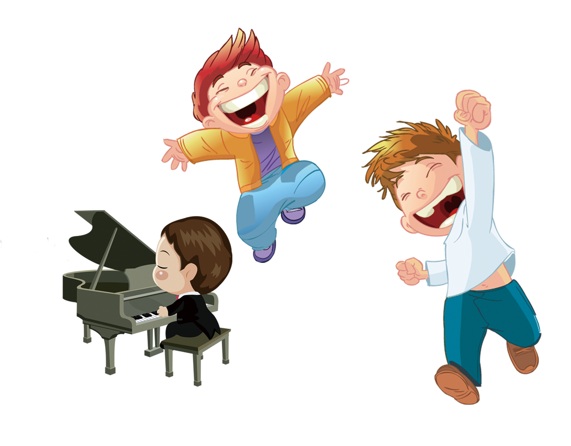 Animated child png. Cartoon illustrator hip hop