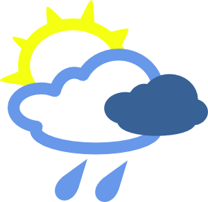 Animated clipart weather. Free download