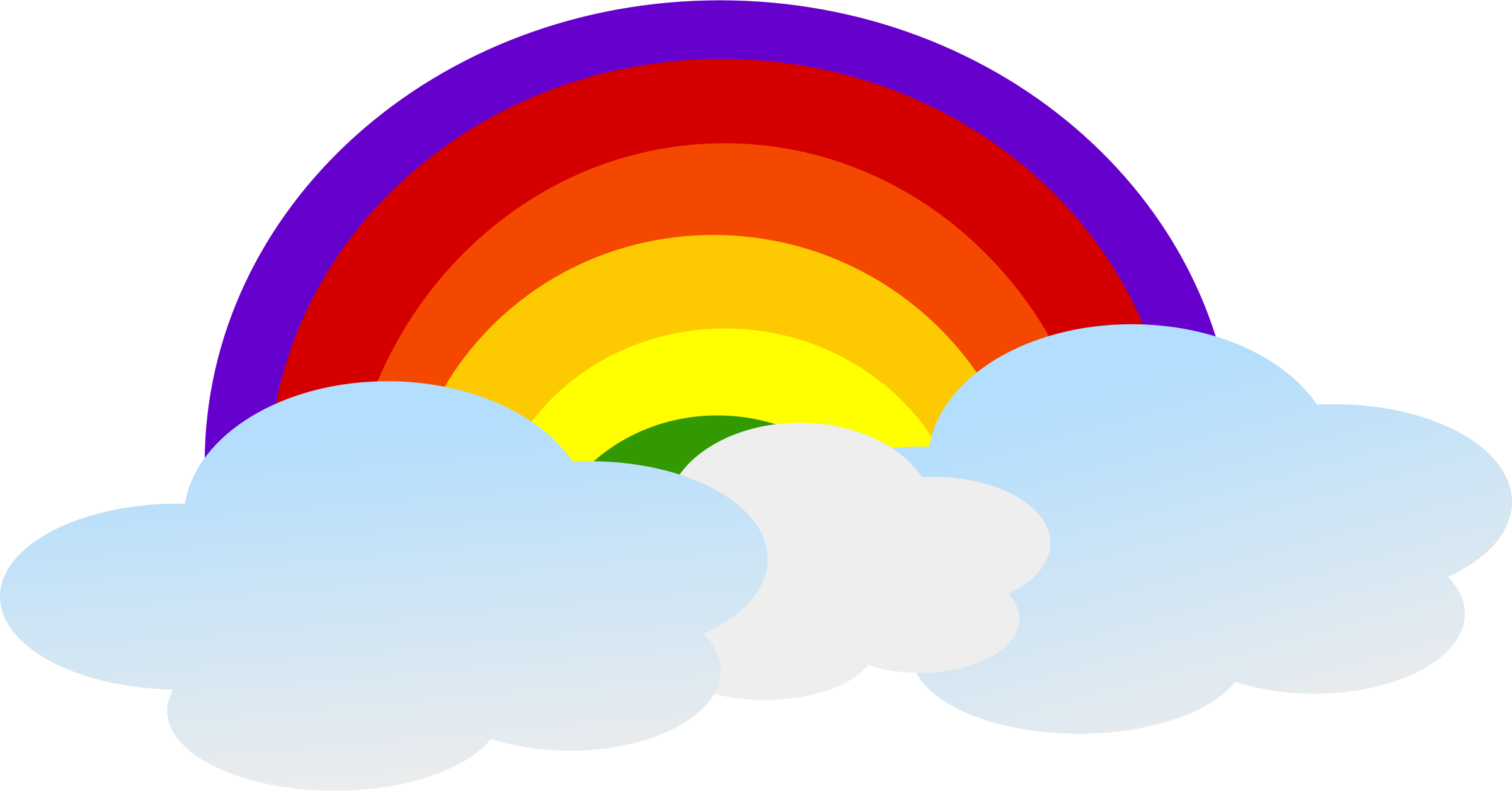 rainbow cloud png