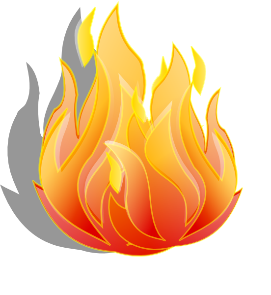 Animated fire png. Moving clipart
