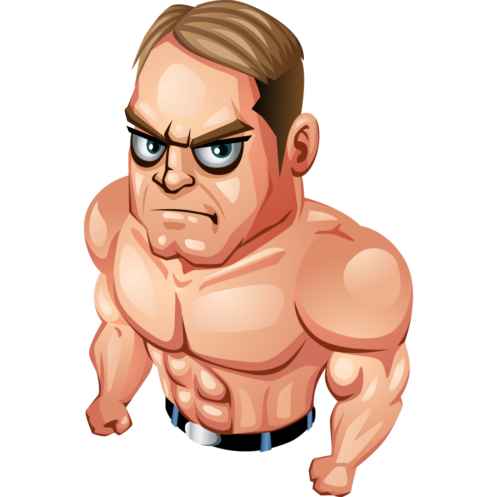muscle man png