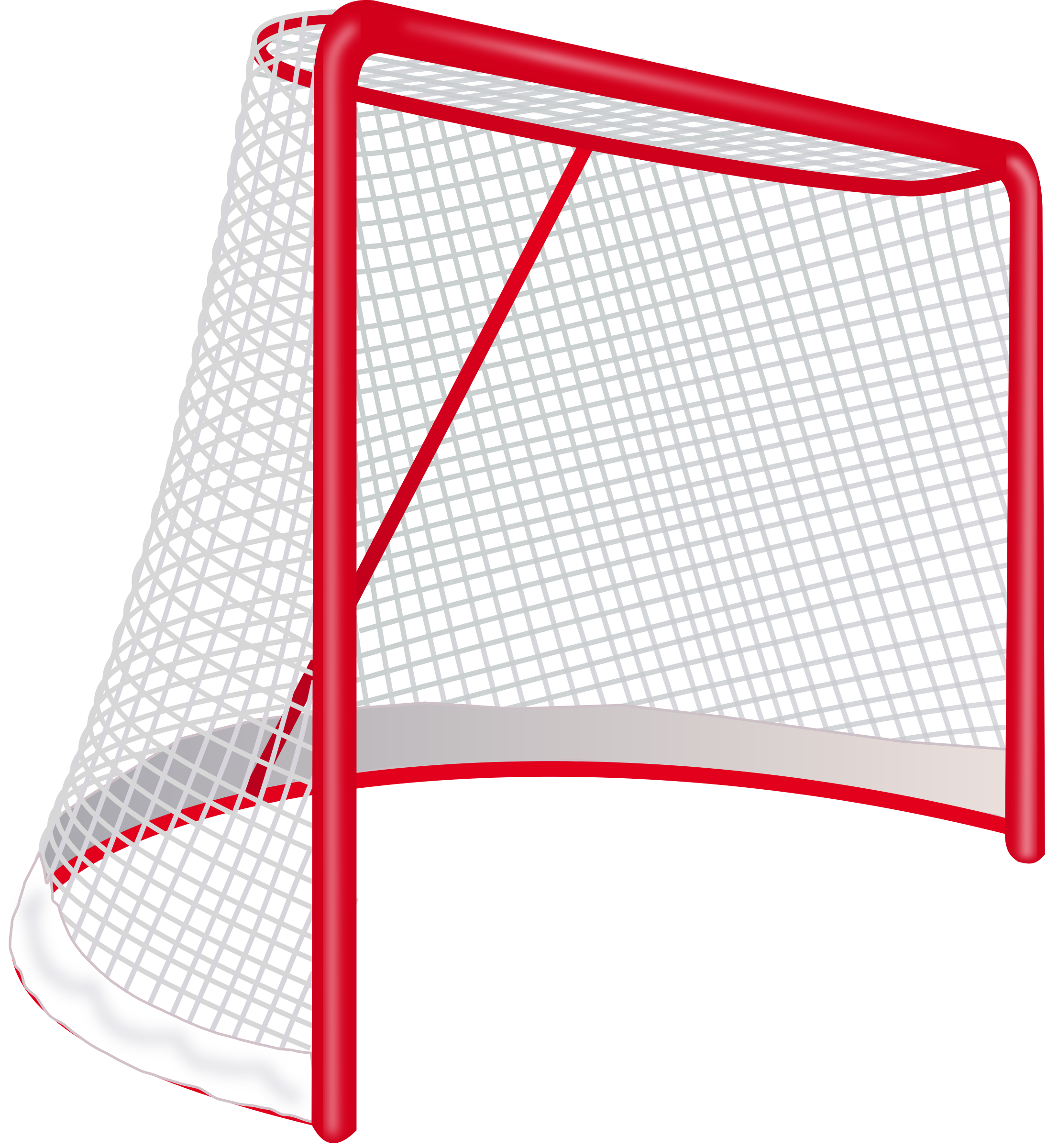 Goal vector keeper. Collection of hockey
