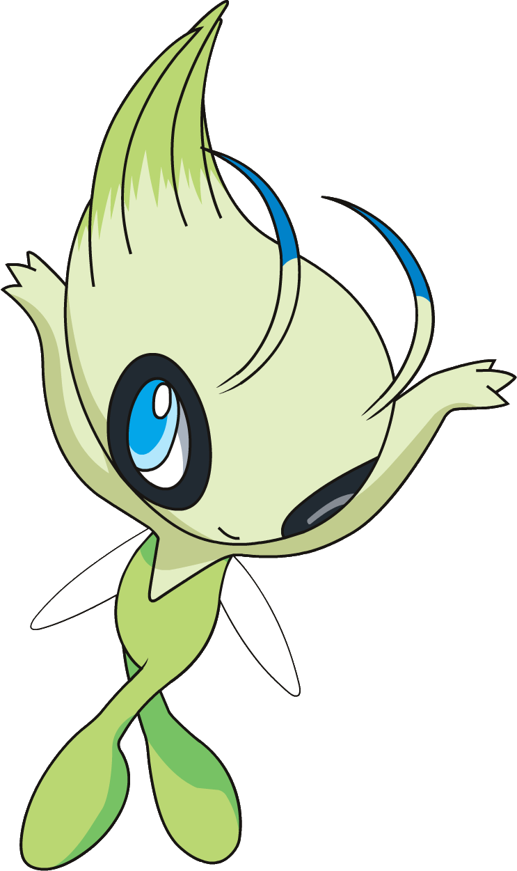 Animated net png. Image celebi os anime