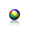 Apng wikipedia example bouncing. Animated png image graphic freeuse stock
