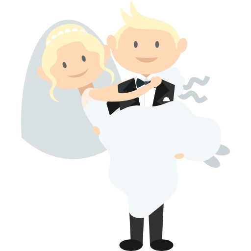 Animated png download. Wedding couple free people