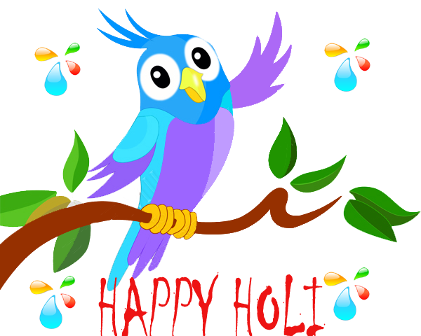 Animated png download. Happy holi greeting cards