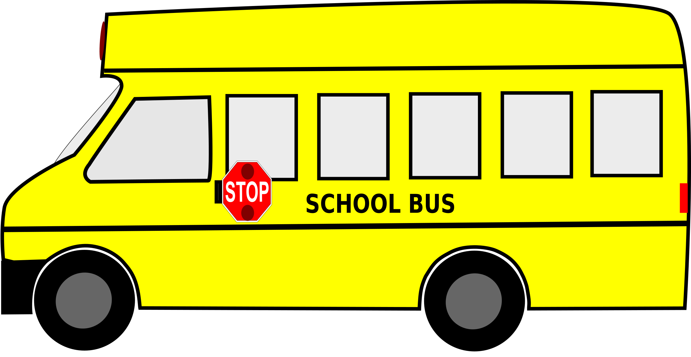 Animated png download. Moving school bus svg