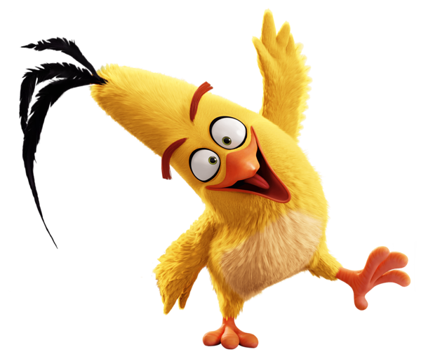 Animated png image. The angry birds movie