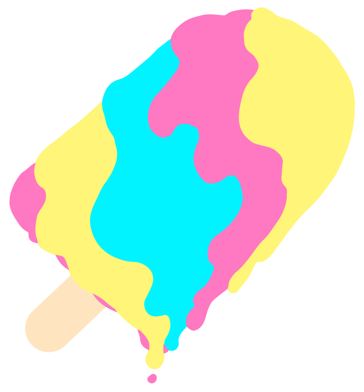 Animated png image. Gifs popsicle illusion