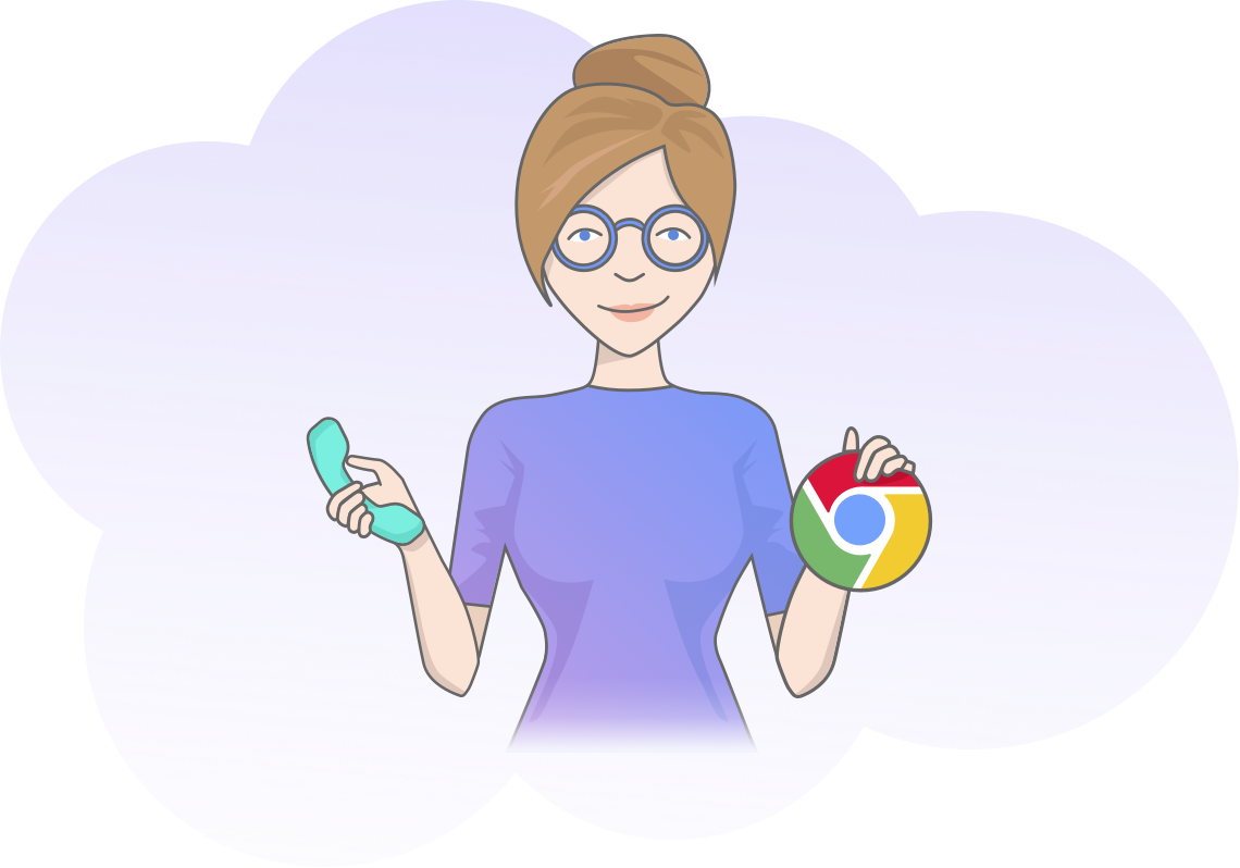 Animated png on chrome. Lusha extension find emails