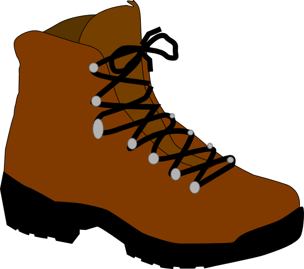 Animated shoe png. Hiking boot clip art