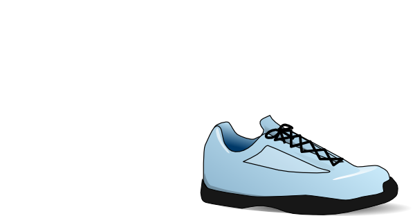 Animated shoe png. Tennis clip art at