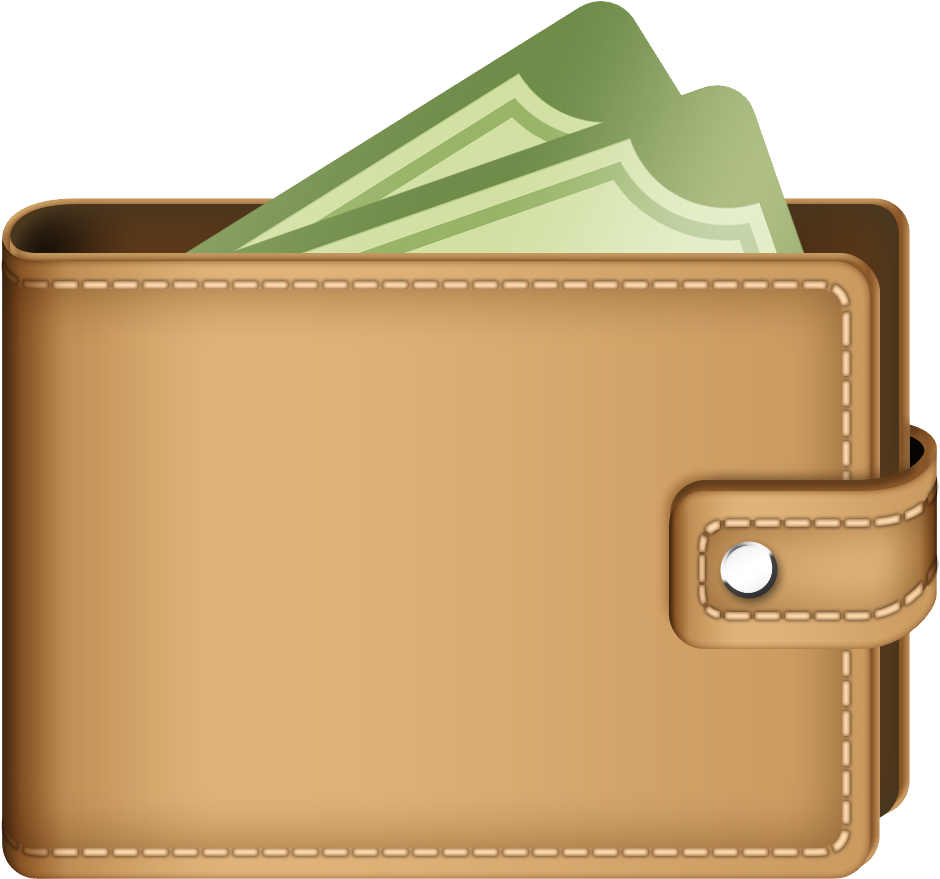 collection of png. Wallet clipart clip