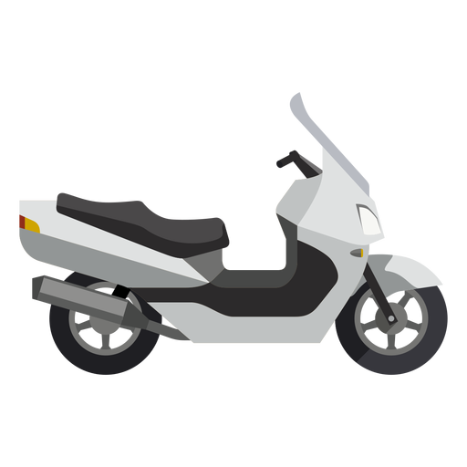 Scooter vector design. Motorcycle icon transparent png