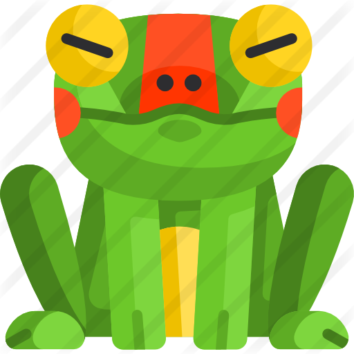 Animation svg toad. Frog free animals icons