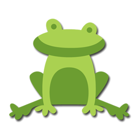 Animation svg toad. Frog free file files