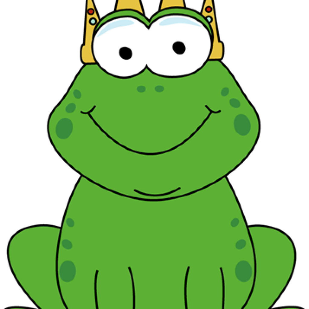 Animation svg toad. School frog royalty free