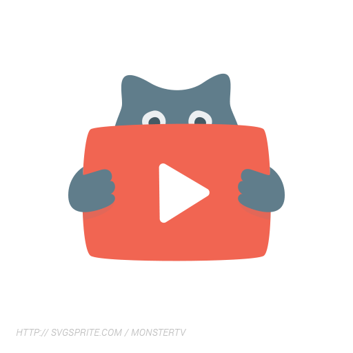 Animation vector. Monstertv graphics library buy
