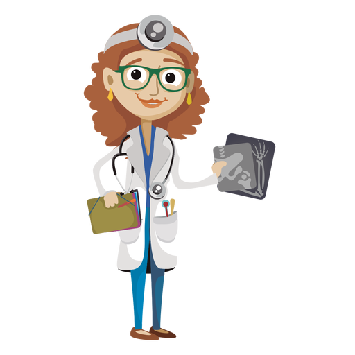 Male vector physician. Female doctor cartoon png
