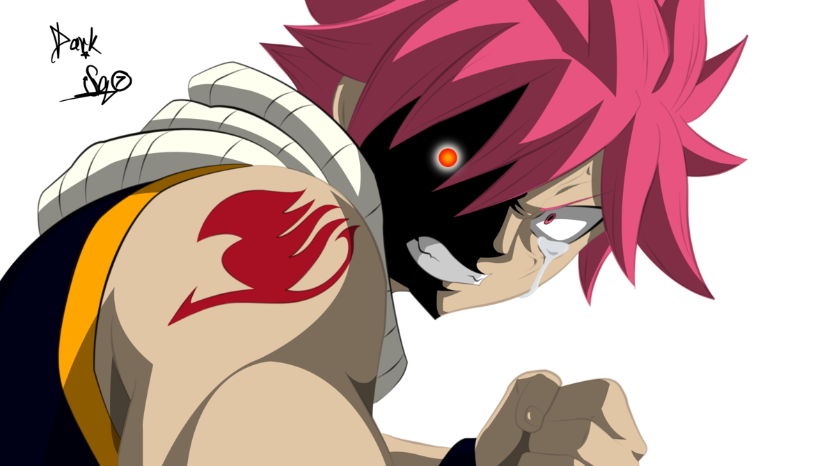 Anime angry png. Natsu version cleaned by