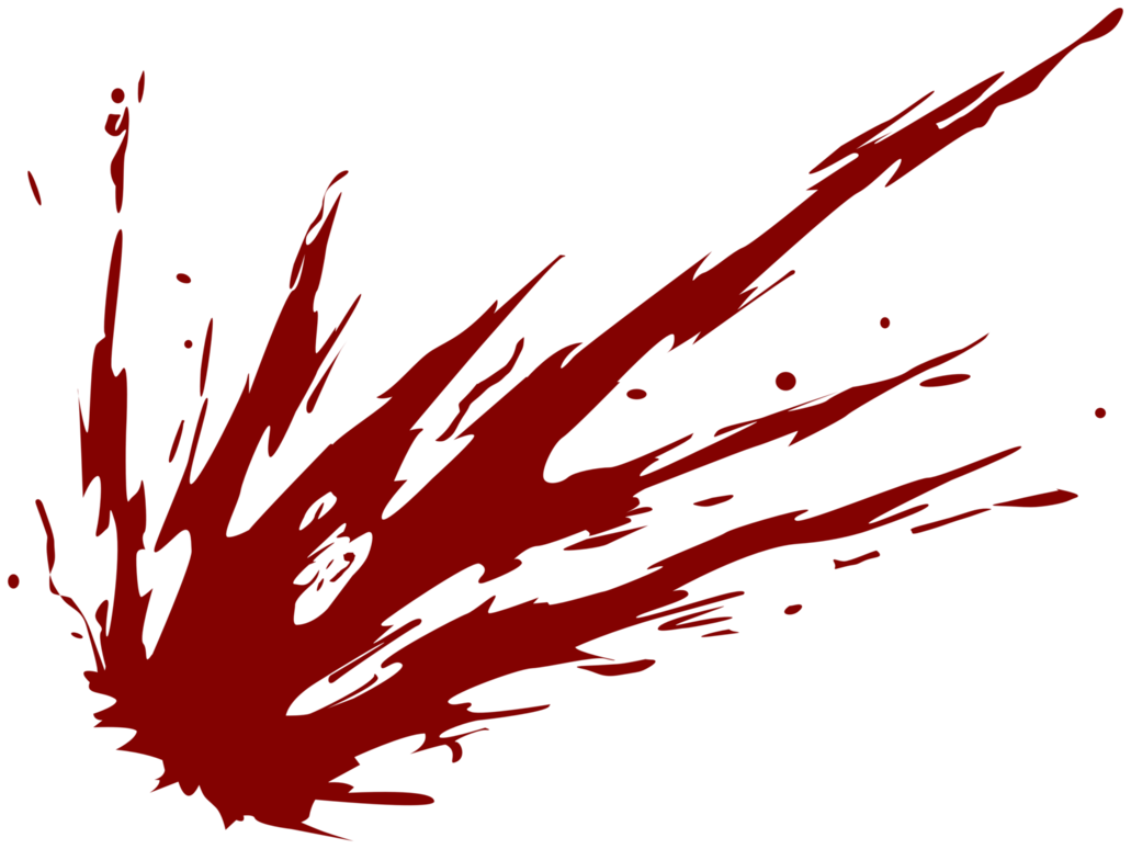 Red streak png. Image drawn circle blood