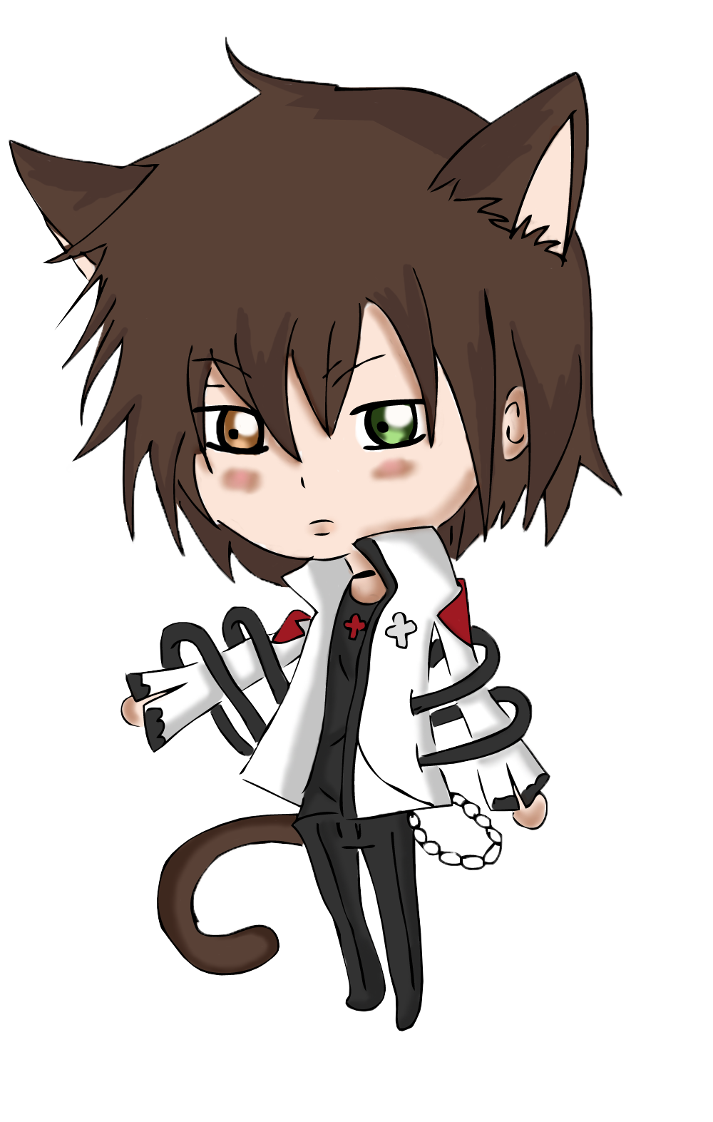 Anime boy hoodie png. Images for chibi with