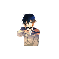 Anime boy sad png. Download free photo images