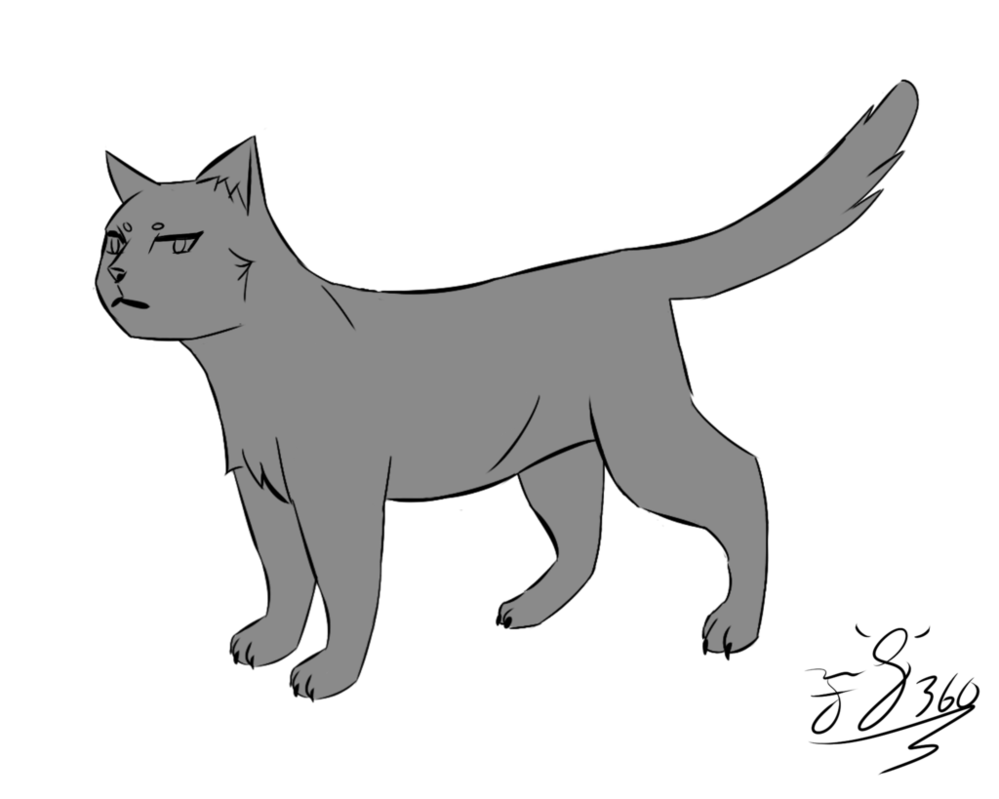 Anime cats png. Simple cat lineart link