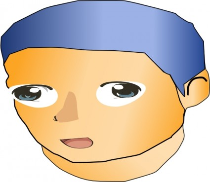 Anime clipart. Image of clip art