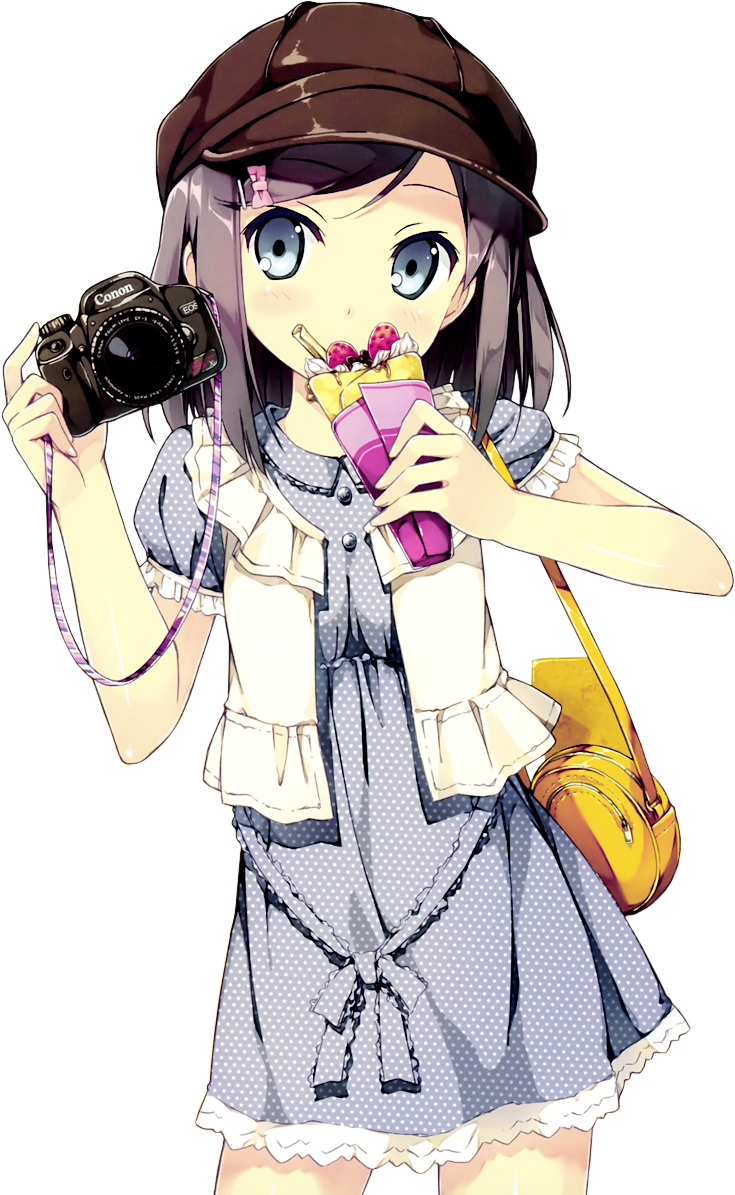 anime little girl png
