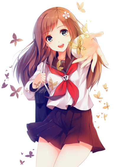 Anime clipart animated woman. Download girl free png