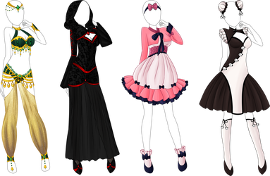 Anime clothes png. Design favourites by rockiart
