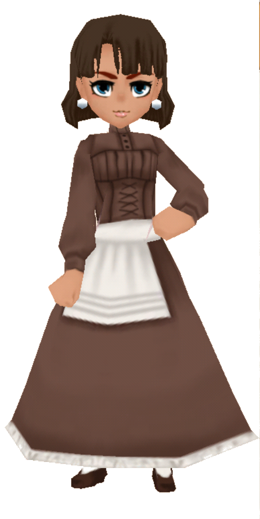 Anime clothes png. Image brown country female