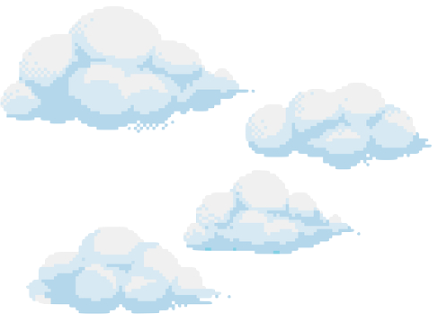Anime clouds png. Image about text in