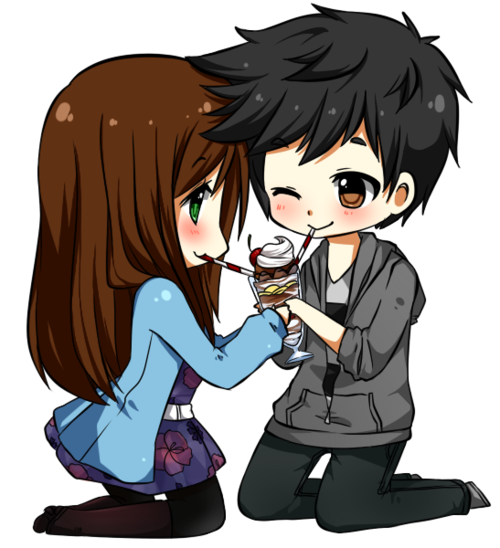 Couple tumblr png. Chibi shared by sakura