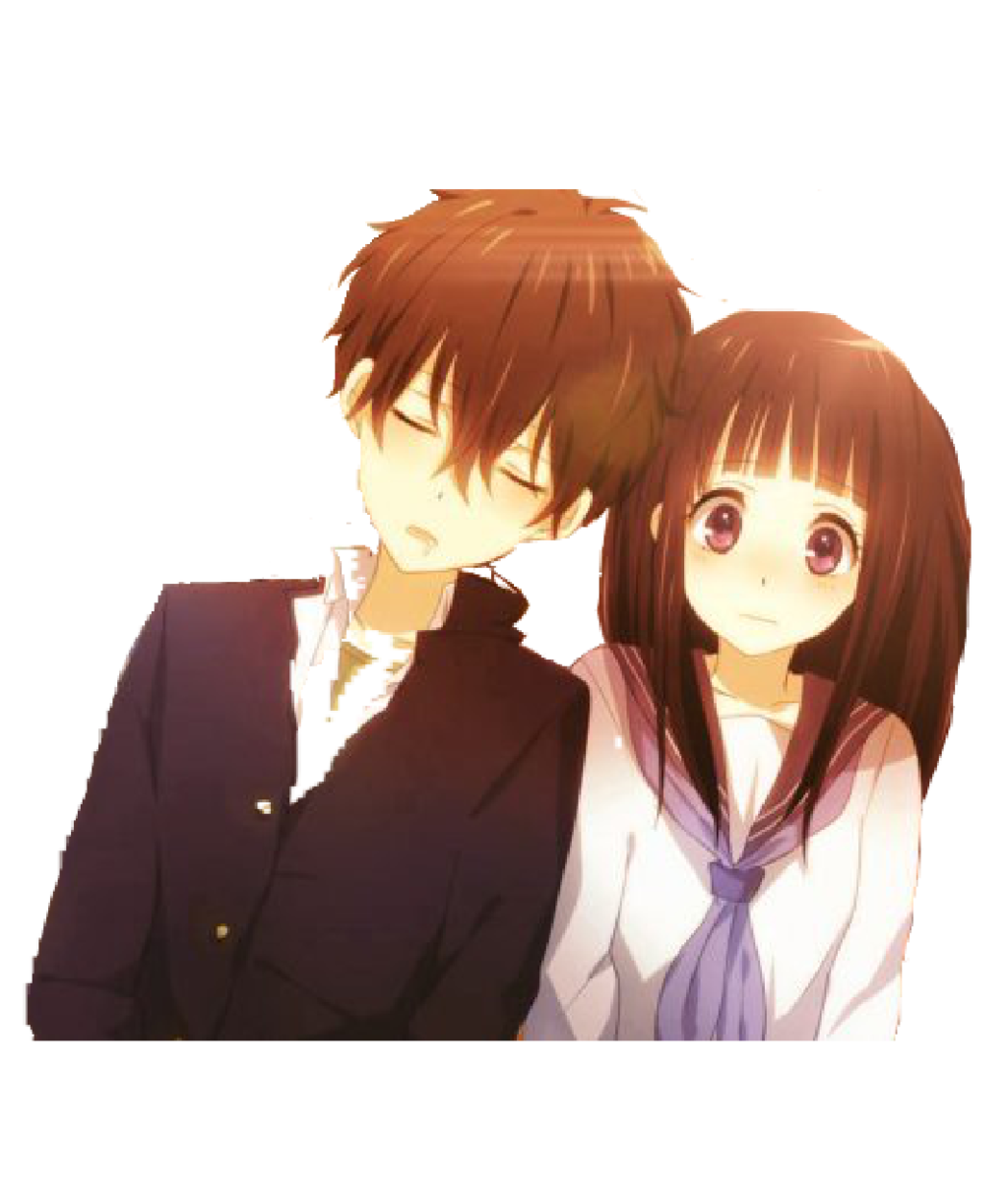 Anime couple png tumblr. By render sama on