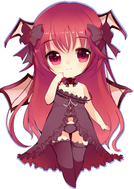 Anime devil png. Cute demon girl pictures