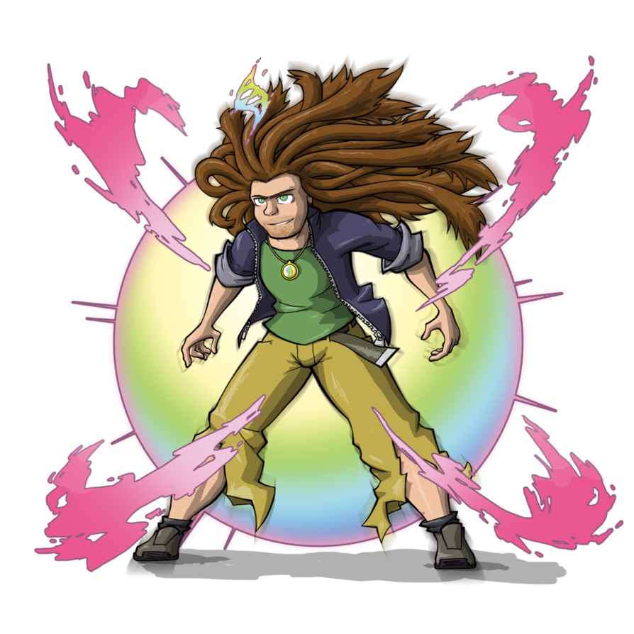 Anime dreads png. Mega by comic ray